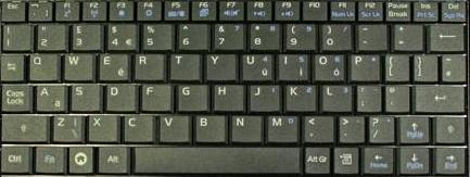 Asus Eee PC Keyboard