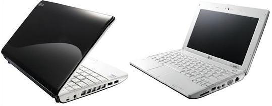 Нетбук LG X-110: unboxing, запуск ОС