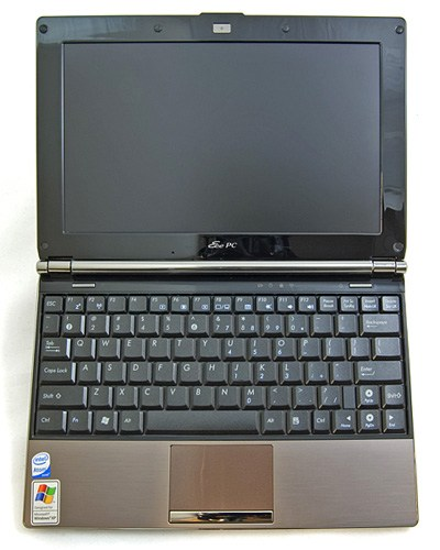 Asus EEE PC S101 в раскрытом виде