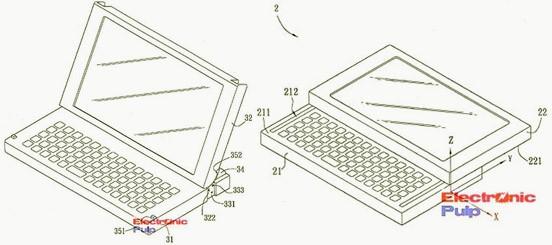 Нетбуки с сенсорным экраном – новый патент Asus