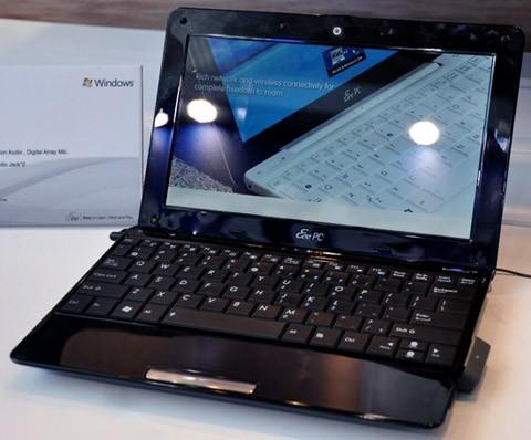 Asus Eee PC 1008HA подробные характеристики