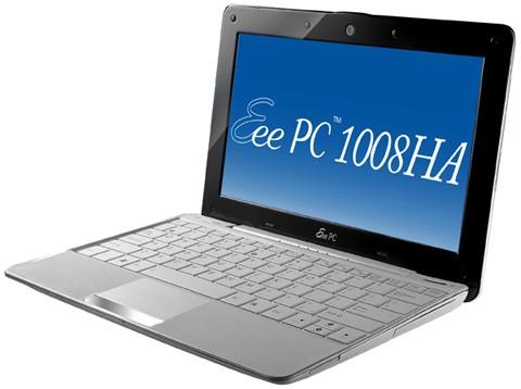 Asus Eee PC 1008HA и Asus Eee PC E1004N в апреле