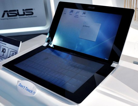 asus dual screen netbook