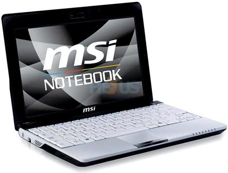 MSI Wind U123 цена и дата начала продаж