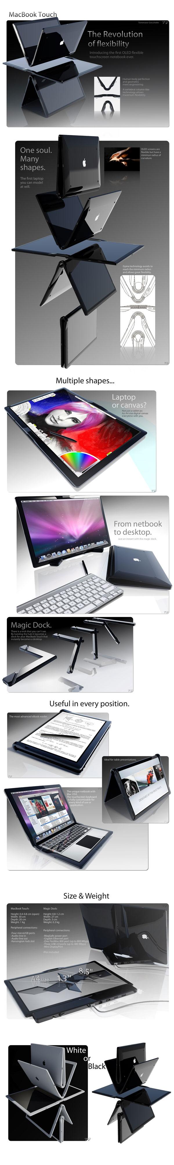концепт нетбука apple
