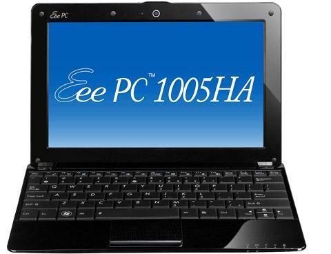 Официальные спецификации нетбука Asus Eee PC 1005HA