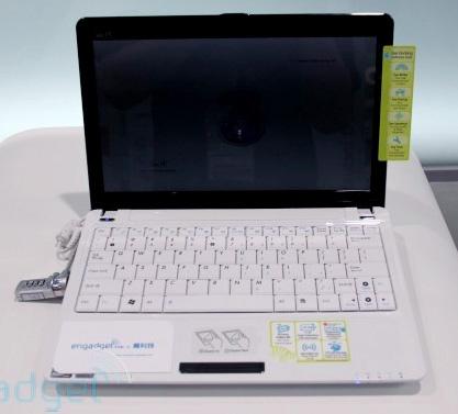 Asus Eee PC 1101HGo и 1005HGo – два новых нетбука