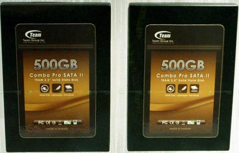 SSD накопитель Combo Pro на 500 гигабайт
