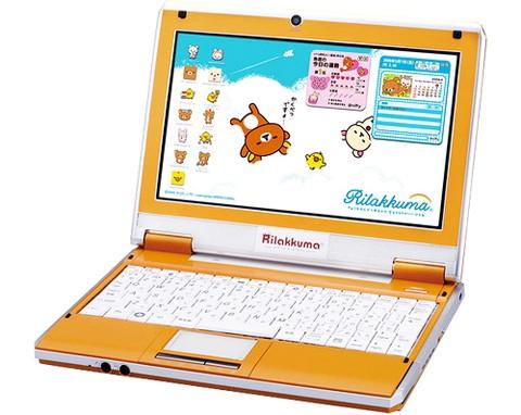 Детский нетбук Bandai Rilakkuma