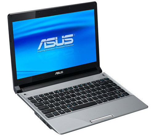 Asus UL30Vt – тонкий ноутбук с 2 видеокартами