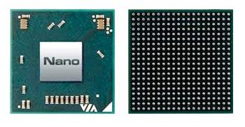 VIA NANO 3000 – новая линейка процессоров для нетбуков