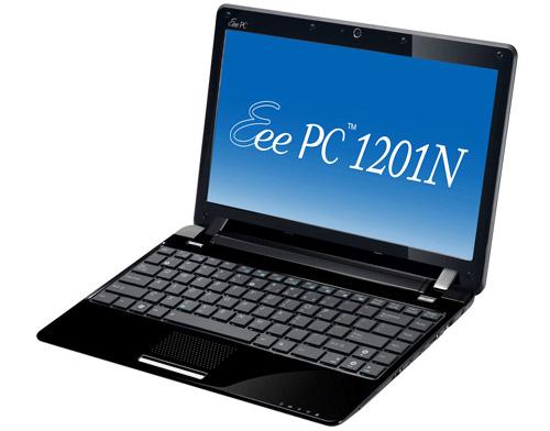 Обзор нетбука Asus Eee PC 1201N