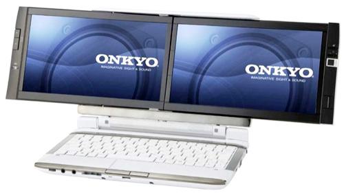 Двуглавый нетбук Onkyo