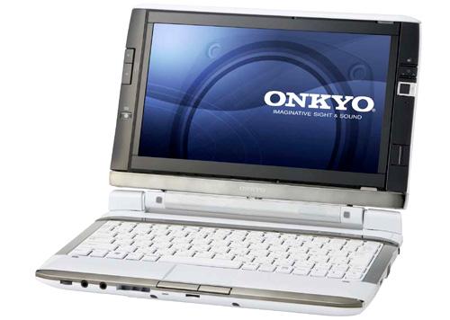 нетбук Onkyo с двумя экранами
