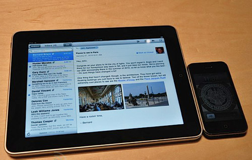 apple ipad и iphone