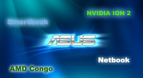 Нетбуки Asus Eee PC на новых плаформах