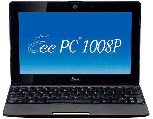 Asus Eee PC 1008P – видео