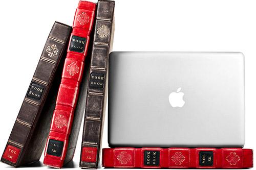 Чехол для ноутбука в виде старой книги
