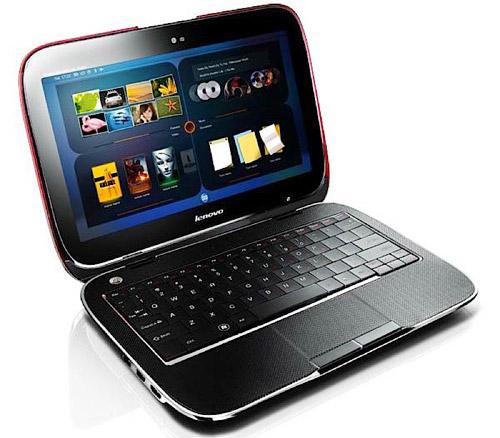 гибридный ноутбук Lenovo IdeaPad U1 Hybrid