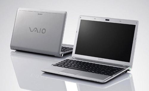 тонкий ноутбук Sony Vaio Y
