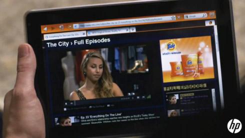 Планшетный ПК HP Slate – видео
