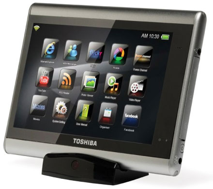 Toshiba выпустит сразу несколько планшетов