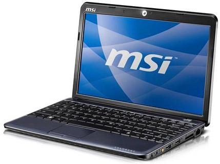 Тонкие ноутбуки MSI U230 доступны, пока только в США