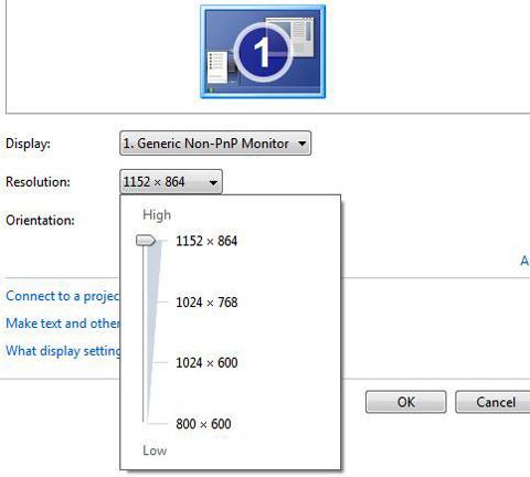 как увеличить разрешение экрана у нетбука