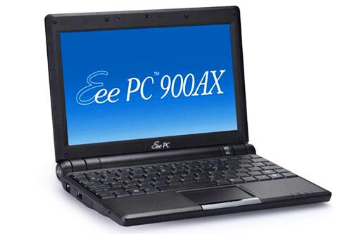 ASUS Eee PC 900AX – старая начинка с новым названием