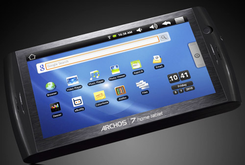 Планшет Archos 7 Home Tablet стоит 200 долларов
