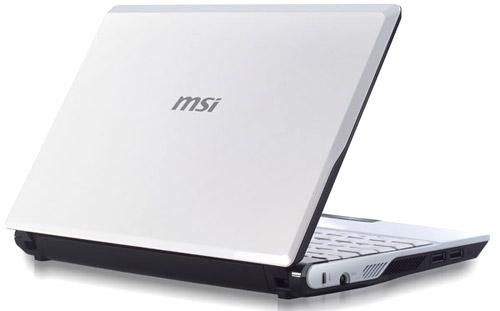 MSI Wind U140 – простой нетбук с WiMax