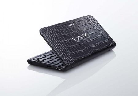 Sony Vaio P с отделкой крокодиловой кожей