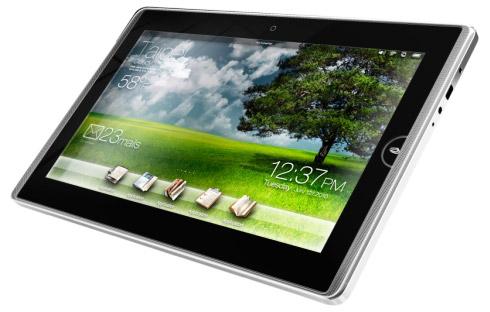Asus анонсировал три планшета Asus Eee Pad EP121, Eee Pad EP101TC и Asus Eee Tablet