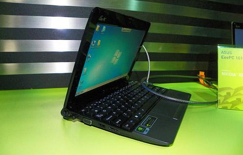Asus Eee PC 1015N – на платформе Nvidia ION 2