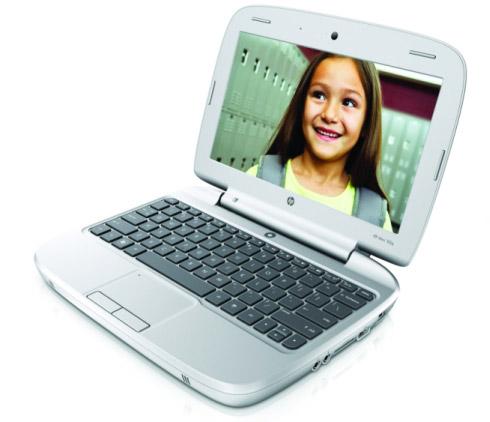 HP Mini 100e – нетбук для обучения