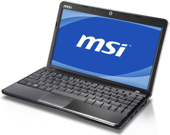 Тонкий ноутбук MSI Wind U250 и нетбук MSI Wind U135DX