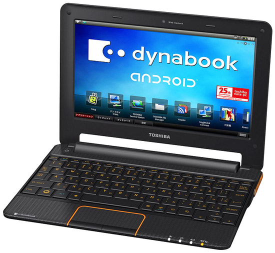 smartbook toshibaac100