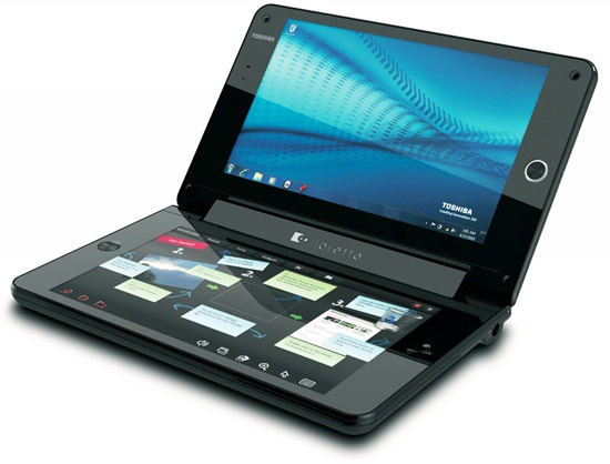 первые впечатления Toshiba Libretto W100