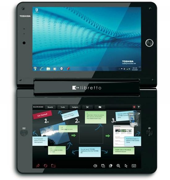 обзор Toshiba Libretto W100