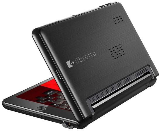 Toshiba Libretto W100 первые впечатления