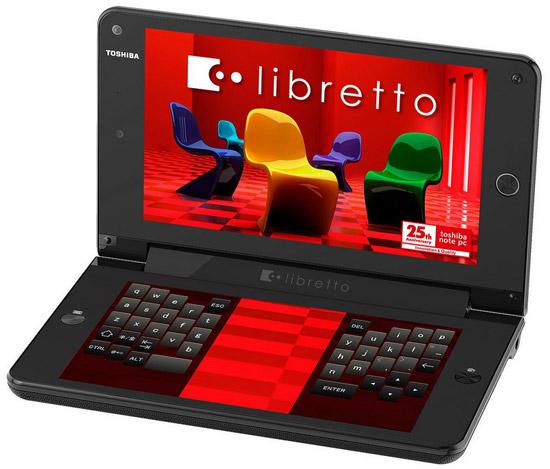 отзывы Toshiba Libretto W100