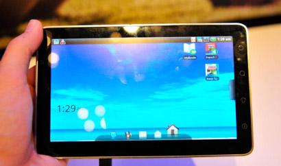 планшетный ПК Acer с Google Android 3.0
