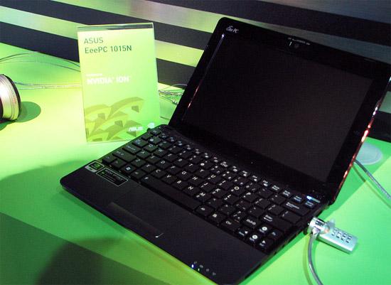 ASUS Eee PC 1015N с двухядерным процессором N550 уже в сентябре?