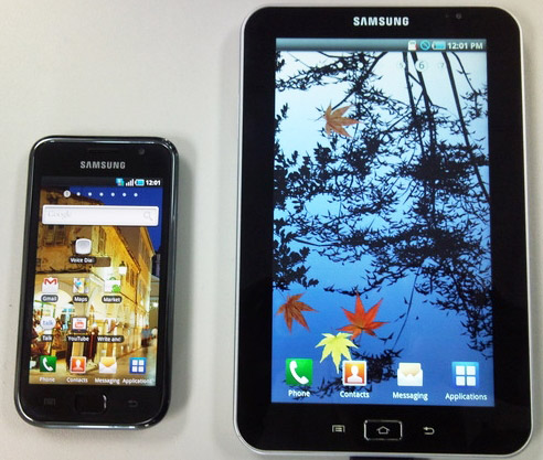 Технические характеристики планшета Samsung P1000 Galaxy Tab