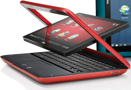 Dell Inspiron Duo – нетбук с вращающимся экраном