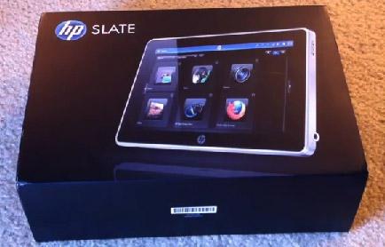Планшетный компьютер HP Slate