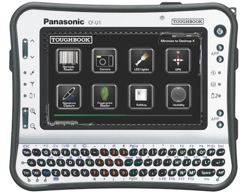 Промышленный планштеный компьютер Panasonic Toughbook CF-U1