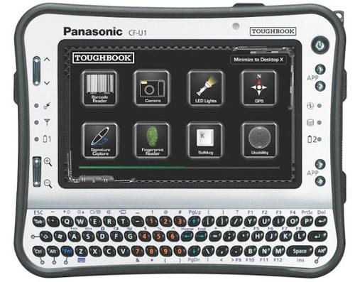 Промышленный планштеный компьютер Panasonic Toughbook CF-U1