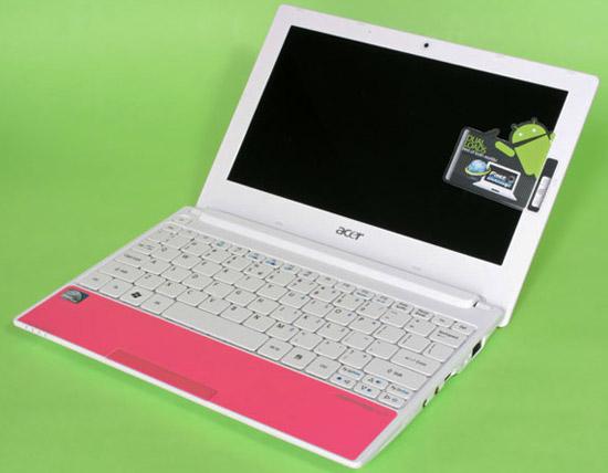 Acer Aspire One Happy – маленькое счастье