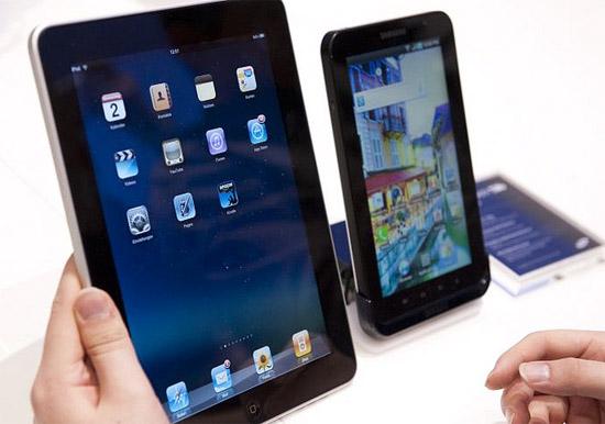 Samsung Galaxy Tab в России